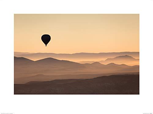 The Art Group David Clapp (Cappadocia Ballon Ride) - Kunstdruk 60 x 80cm, Papier, Multi kleuren, 60 x 80 x 1,3 cm