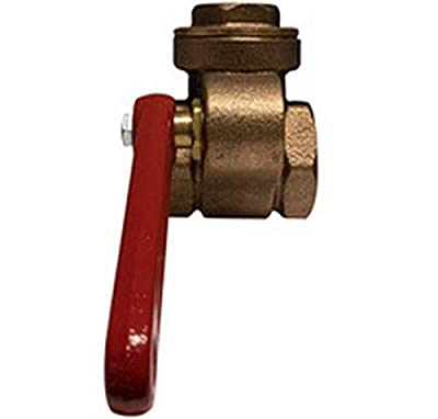 """Midland 941-135 Bronze Quick Opening Gate Valve, Threaded Ends, 1"""" Size, 58.3"""" Length by Midland Metal"""