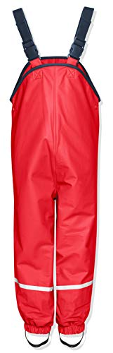 Playshoes Unisex Niños Pantalones Not Applicable, Rojo (Rot), 104