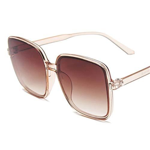 XMYNB Mujer Gafas de Sol Gafas De Sol Cuadradas De Gran Tamaño Mujeres Big Frame Gafas De Sol Ladies Vintage Shades Gafas