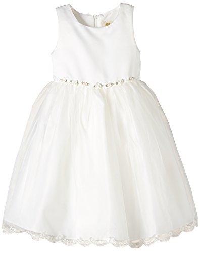 Eisend Mädchen Kommunionkleid Kleid, Beige (Ecru 11), (Herstellergröße: 98)