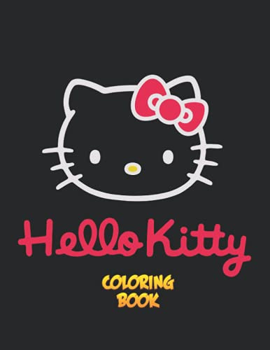 Hello Kitty Coloring Book: An A4 110 Pages Coloring Book For Kids & Friends...