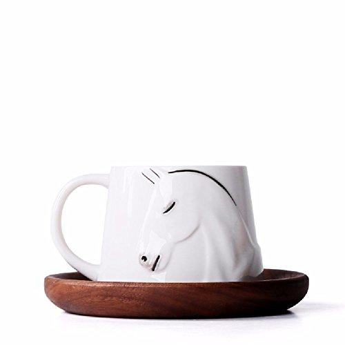Ein Handgemaltes Porzellan Keramik Foto Tasse Kaffee - Liebhaber,Moma,Weißes Porzellan