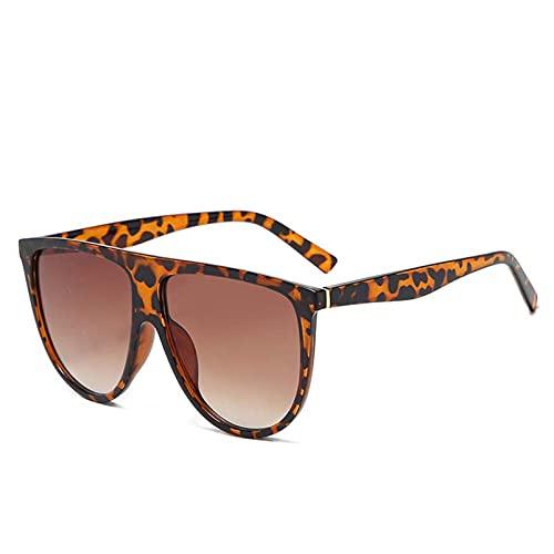 AMFG Big Frame Big Sun Glasses Classic Retro Retro Celebrity Street Shooting Gafas de sol Moda Mujer Gafas de sol (Color : F)