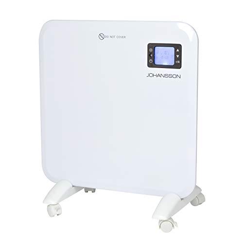 Johannson Calefacción de Suelo y Pared de la Marca, Sistemas de calefacción de Pared por convección eficiente termostato Digital con Temporizador de 400W a 2000W