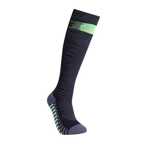 WATERFLY Waterproof Socks, High Socks, Fully Waterproof, Breathable, Warm, Mountain Climbing, Skiing, Commuting to Work, Fishing, Outdoor Activities - blk