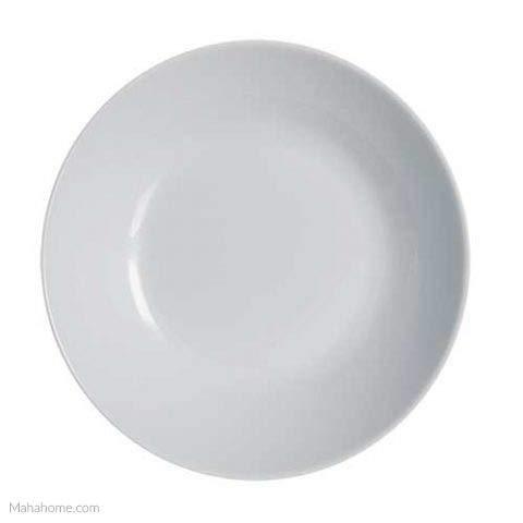 Luminarc Diwali Colours - Cuenco para sopa (20 cm), color gris