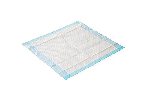 Wickel-, Baby-, Kranken-, Einmalunterlage aus Vlies, 40 x 60 cm 6 lagig in blau (60)
