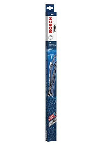 Bosch Scheibenwischer Twin 605, Länge: 600mm/340mm – Set für Frontscheibe