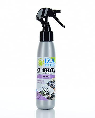 IZA Effect EFFECT Silver Line3 SL3 - SPORT ist ein wirksames Desinfektionsmittel für Sportgeräte. Geruchs- und farblos, auf Wasserstoffperoxidbasis und biologisch abbaubar; 100ml; 30417, 100 ml