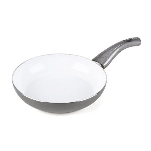 Bialetti 07226 Aeternum Easy Fry Pan, 7.75-inch, Silver