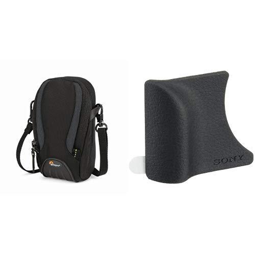 Lowepro Apex 30 AW Kameratasche schwarz & Sony AG-R2 Griffbefestigung (geeignet für DSC-RX100, DSC-RX100II, DSC-RX100III, DSC-RX100IV, DSC-RX100V) schwarz