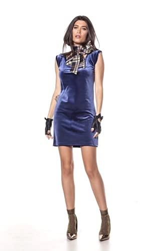 Vestido Regata Midi Veludo Minimalista Casual (G)