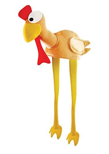 Disfraz Adulto Navidad Pavo gobbler Sombrero Con Piernas