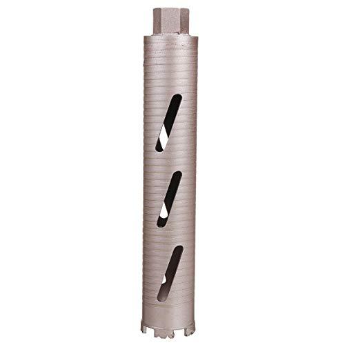 BouBou Punta da trapano ad acqua diamantata 370mm per apriscatole per muro di cemento in marmo Denti a corona ispessita Punta da trapano ad acqua durevole affilata - 63mm