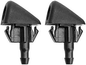 ZHParty 2 Pcs Windshield Washer Sprayer Nozzle Jet fit Compatible for 2010-2019 MAZDA 3 5 6 CX-3 CX-5 CX-7 CX-9 - Replaces OEM # KD45-67-510 , L206-67-510
