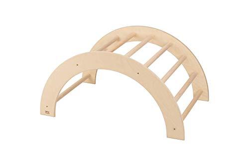 VU Holzspielzeug Kletterbogen (Pikler Art), mittelgroß, fertig zusammengebaut, Made in Germany