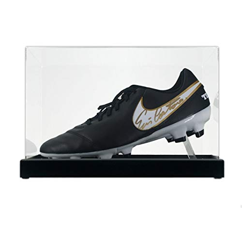 Eric Cantona Signed Soccer Shoe In Display Case | Autographed Sport Memorabilia