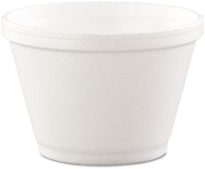 Dart 6SJ12 6 oz Foam Container (Case of 1000)