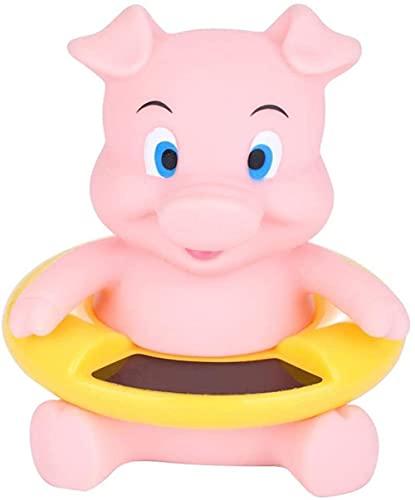MISINIO Termómetro de bañera bebé Termómetro bebé bebé Flotante de Juguete Seguridad Temperatura Temperatura Baño Baño Suministros Cerdo Rosa (Cerdo Rosa) Incomparable