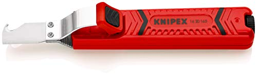 KNIPEX Abmantelungswerkzeug mit Schleppklinge (165 mm) 16 20 165 SB