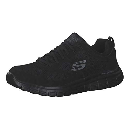 Skechers Skechers Burns 52635-bbk, Men's Low-Top Sneakers, Black, 12 UK (47.5 EU)