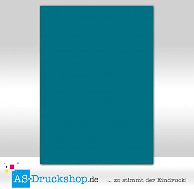 Farbiges Papier Schreibpapier - Petrol   100 Blatt DIN A4   220 g-Papier B07DDKMYVZ  | Sale Online