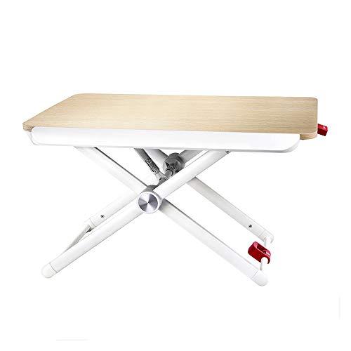 XiuHUa Vouwtafel, verticale hef- en klaptafel kan worden gebruikt als werkbank voor kantoormedewerkers, tafelblad kan worden verhoogd op 75-380mm /tafel