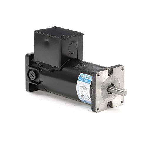 Permanent Magnet 90V DC Motor 1/6 hp 1750 RPM 31GS Frame Leeson Electric Motor # M1120042