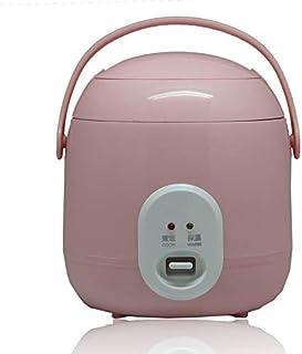 SHAAO Cuiseur à Riz électrique 1.2L Isolation multicuiseur Pot de Riz Cuisine poêle électrique Chauffage Rapide boîte à Lu...