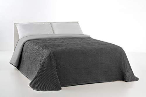 VIALMAN Tagesdecke, grau, Bett 105 cm: 200cm x...