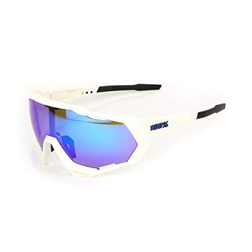 GAFAS SOL Montura Completa Gafas De Ciclismo Bicicleta De Montaña Gafas De Motocicleta Gafas Nueva Protección UV400 Polarizadas Aire Libre 100%