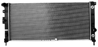 TYC 2881 Compatible with CHEVROLET Uplander 1-Row Plastic Aluminum Replacement Radiator