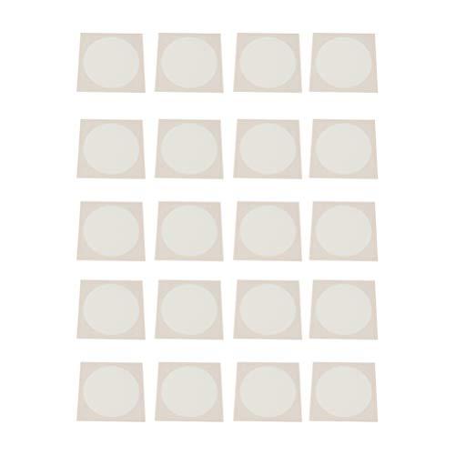 Scicalife 20 Piezas de Papel de Arte Chino Shikishi Xuan Papel para La Caligrafía de La Pintura Y Pincel de Sumie