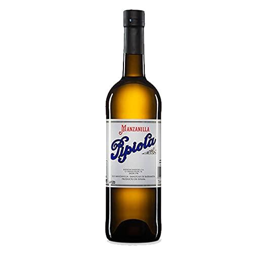 Vino Manzanilla Pipiola de 75 cl - D.O.Manzanilla-Sanlucar de Barrameda - Bodegas Barrero (Pack de 1 botella)