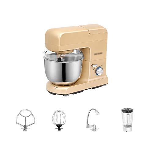 Batidora Amasadora Robot de Cocina Procesador de alimentos Dough Blender Soporte Máquina mezcladora Máquina mezcladora eléctrica de 9 velocidades Máquina de cocina eléctrica de 9 velocidades con expri