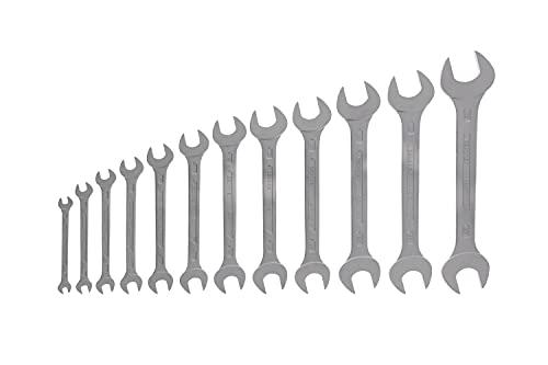 Gedore 6-12 Juego de llaves fijas de doble boca 12 pzas 6-32 mm, 6-32mm, Set Piezas