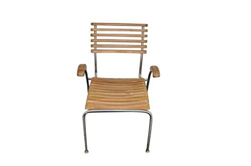 Leco Gartenmöbel, 2er Set Stuhl für Sitzgruppe Kamar, teakholz, 59 x 56 x 87 cm, 29013799