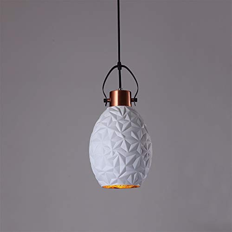 XUMIMI AINordic led pendelleuchte licht kronleuchter postmoderne kreative Farbe Macaron deckenleuchte für Restaurant Cafe Schlafzimmer Studie (Single Head)