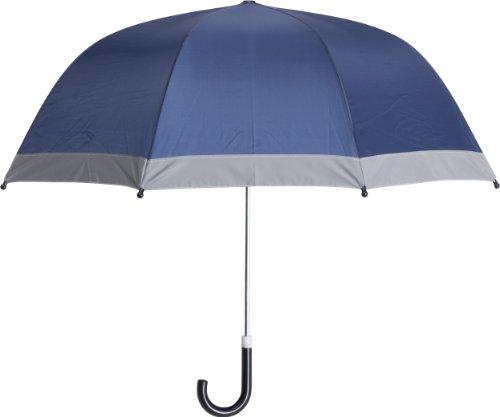 Playshoes Kinder-Unisex Reflektoren für mehr Sicherheit im Straßenverkehr, Circa 70 cm Regenschirm, Blau (Marine 11), Einheitsgröße