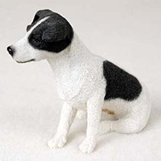 Jack Russell Terrier Figurine Smooth BW