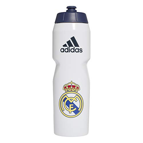 adidas Real Bottle Botella, Adultos Unisex, Blanco/AZUOSC (Blanco), Talla Única
