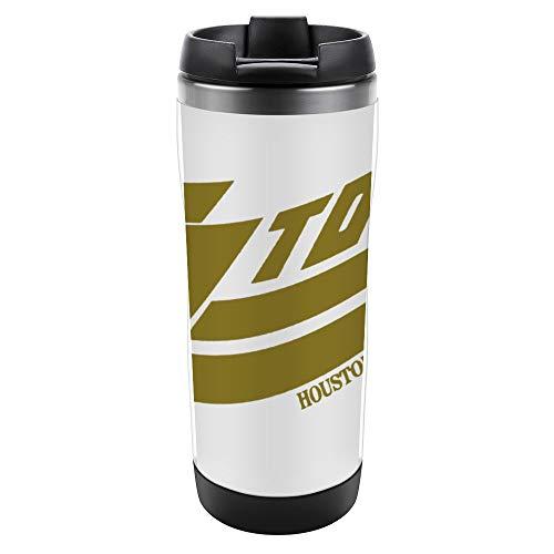 Taza aislada Taza de acero inoxidable con tapa Taza a prueba de fugas Top Houstoon Texas since 1969 Logo Taza de café aislada