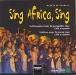 Sing Africa, sing - Toy Piano and Violin - CD