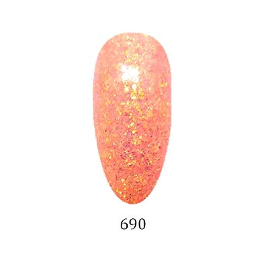 スクランブル束ねるダイヤモンドアイスジェル カラージェル グリーミングシリーズ GM-690 3g