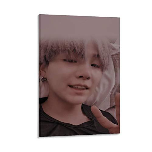 K-POP BTS JIMIN Nam-joon Kim Seok Jin Min Yoon Gi Jeon Jung Kook J-Hope Kim Tae Hyung 19 poster su tela e stampa artistica da parete, 50 x 75 cm