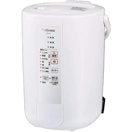 象印 スチーム式加湿器 [木造和室8畳・プレハブ洋室13畳まで] ホワイト EE-RQ50(WA)