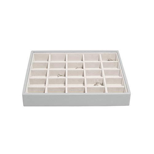 Stackers Boîte à bijoux classique de taille moyenne Gris galet