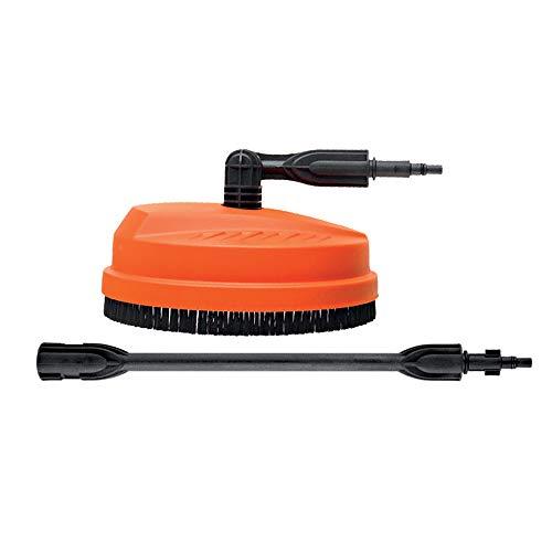 BLACK+DECKER Flächenreiniger Patio Cleaner – Bodenreinigungszubehör für Hochdruckreiniger