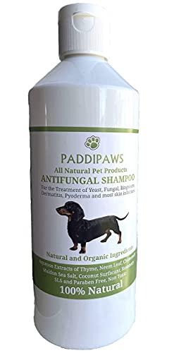 PADDIPAWS Shampoing pour chien 100 % naturel antifongique et antibactérien – Infections...